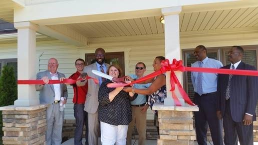 Spartanburg Housing Authority new office at 2271 S. Pine St.
