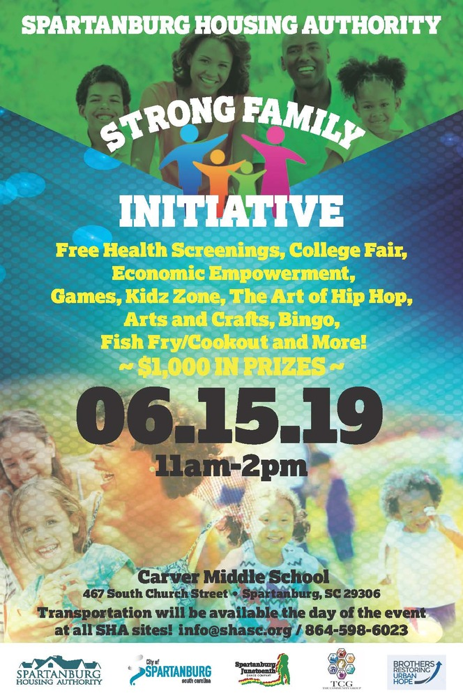 Strong Family Initiative Flyer