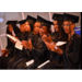 Graduating ladies clapping